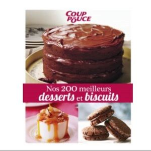 Coup de pouce Desserts french cookbook